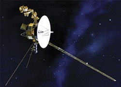 NASA - About the size and weight of a smart car, Voyager 1 is the farthest and fastest human-made object.