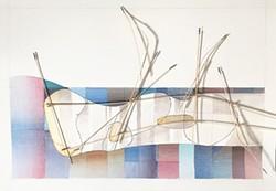 """Basilica of Lost Intentions,"" John Humphries, Morris Graves Museum of Art."