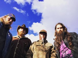 COURTESY OF THE ARTISTS - Barn Fire plays the Logger Bar on Friday at 9 p.m.