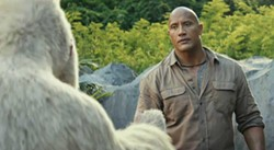 RAMPAGE - Dwayne Johnson meeting with his agent.