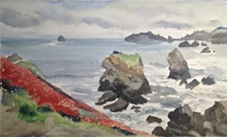 PAUL RICKARD/NORTH COAST OPEN STUDIOS - Open studio with Paul Rickard at Ned Simmons Gallery