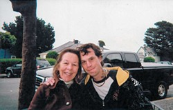 SUBMITTED - Daren Borges with his mother.