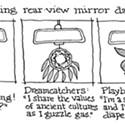 Understanding Rear View Mirror Danglers