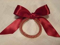 TRACY SHAPIRO - Viking knit bangle