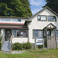 Station Identification Wagner House, home of the KHSU offices. Photo by Bob Doran.