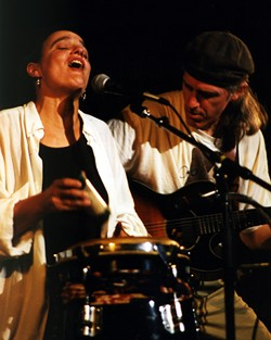 WHO: Karen Savoca and Pete Heitzman, WHEN: Sunday, March 16, 8 p.m., WHERE: The Arcata Playhouse, TICKETS: $15, $13 members