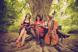 PHOTO COURTESY OF LC&DC PRESS - WHO: Laura Cortese and the Dance Cards, WHEN: Friday, May 9 at 8 p.m., WHERE: Arcata Playhouse, TICKETS: $15, $13 students/members