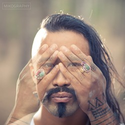 PHOTO BY MIKO WALCZUK. - WHO: Nahko and Medicine for The People - WHERE: Mateel Community Center - WHEN: Sat., Aug. 4, 8 p.m. - TICKETS: $15 adv./$18 door