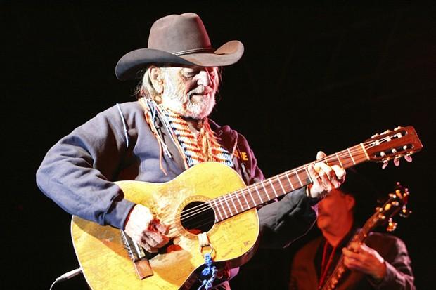 Willie Nelson - PHOTO BY BOB DORAN