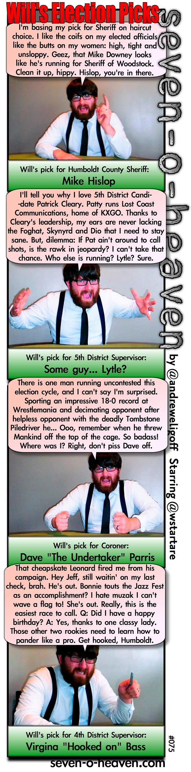 Will's Election Picks