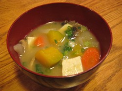 JENNIFER FUMIKO CAHILL - Winter vegetable miso soup