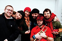 Yogoman Burning Band, photo by J. Emtman
