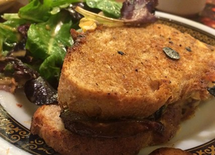 You're a naughty vegetarian sandwich, and you need to be punished. - JENNIFER SAVAGE