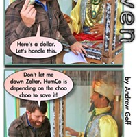 Zoltar Tells a Fortune