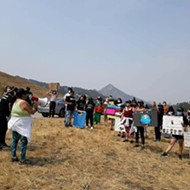 Caravan protest at California Men's Colony calls for better treatment