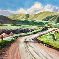 Rosanne Seitz's exhibit at Art Central in SLO depicts out-of-the-way locales
