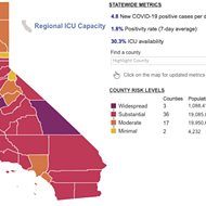 SLO and Santa Barbara counties stay in red tier