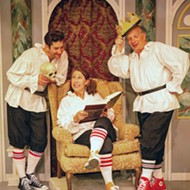 Live, in-person theater makes a Central Coast comeback with SLO Rep's <b><i>The Complete Works of William Shakespeare &#91;abridged&#93;</i></b>