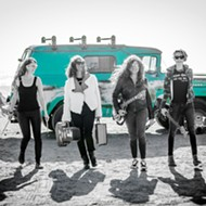 All-female punk rockers Hot Tina will bring the heat to Liquid Gravity on July 10