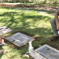 Robinson's Grave Care Services is SLO County's newest—and possibly, only—grave upkeep provider