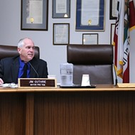 Councilman accused of domestic violence skips meeting