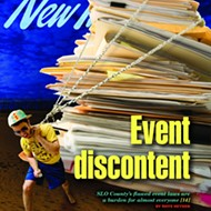 Event discontent: SLO County's flawed event laws are a burden for almost everyone