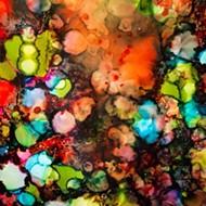 Morro Bay artist M.L. Burdick brings color and complexity to Linnaea's Cafe