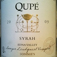 "Qupe 2009 Syrah Edna Valley ""Sonnie's"""