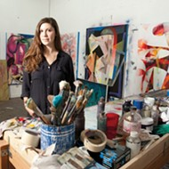 'This painting knows what it is': Meet crime reporter and abstract painter Julia Hickey