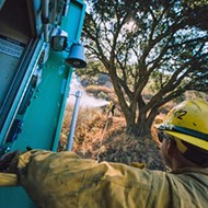 Fire on the mountain: Cuesta blaze continues to burn