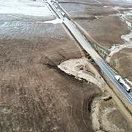 Flash flooding closes Highway 166, foreshadows El Nino