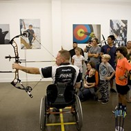 On target: Central Coast Archery hits the mark