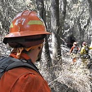 Pros and cons: Inmates help fight Cuesta Fire thanks to state program