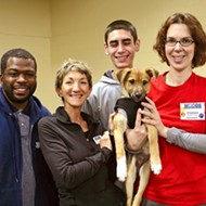 Puppies get basic training at Woods University's weekly puppy socialization workshop