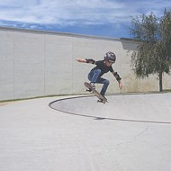 A little skater with limitless talent