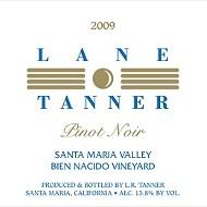 Lane Tanner 2009 Pinot Noir Bien Nacido Vineyard