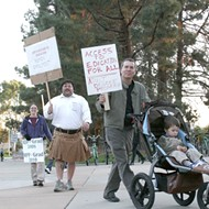 Poly's adult students protest potential program elimination