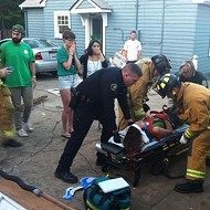 Ten injured in roof collapse at 'St. Fratty's Day' bash