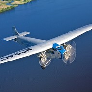 Flight  of fancy: The Experimental Aircraft Association will host the Ford Tri-Motor NC8407 airplane in April