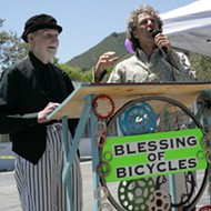 SLO bikes get blessed at Salon 544!