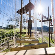 Adventure time: Vista Lago Adventure Park challenges and delights