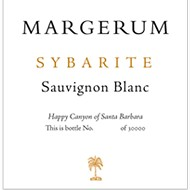Margerum 2011 Sauvignon Blanc Sybarite Happy Canyon
