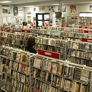 Videos killed the video stores--almost