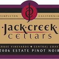 Jack Creek 2006 Pinot Noir Kruse Vineyard