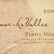Sinor LaVallee 2010 Pinot Noir Aubaine Vineyard