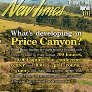 What's developing in Price Canyon?