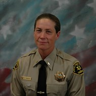 Morro Bay's big badge goes to Amy Christey