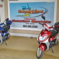 Scootin' around the Central Coast: Scooties Inc. in Grover Beach can rent you wheels