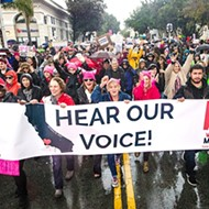 Demonstrating unity: SLO County Women's March participants said it loud and proud