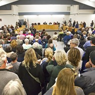 A tale of two town halls: National issues dominated discussion at events held by two Central Coast lawmakers